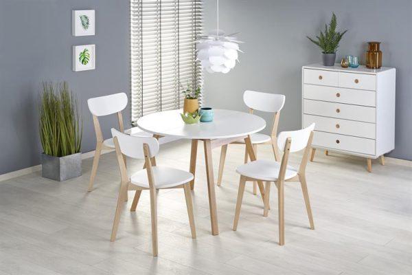 RONALDO - stół rozkładany BIAŁY 1