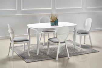 ALEXANDER- stół klasyczny ludwikowski rozkładany 150-190 kolor biały 5