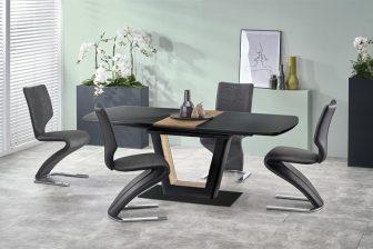 FARREL - stół nowoczesny rozkładany 160-200 kolor czarny 10