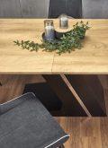 FERGUSON - duży stół industrialny rozkładany 160/220 kolor dąb naturalny 3