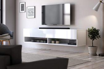 BASIC 140 - szafka RTV wisząca stolik RTV - różne kolory 2