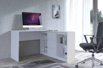 ASTRO- biurko narożne z komodą różne kolory 26