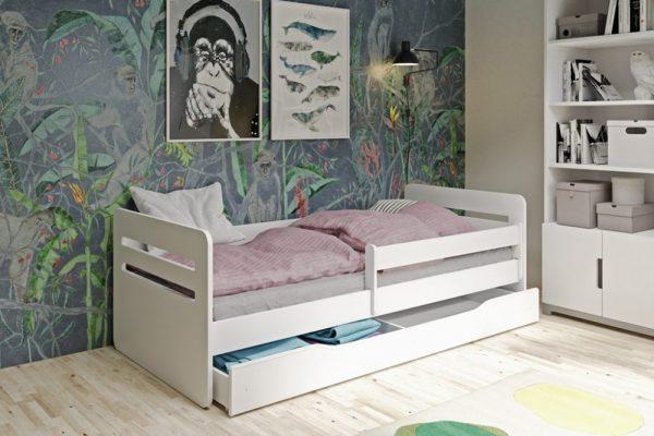 Łóżko łóżeczko dziecięce BUBU 180x80 różne kolory 1