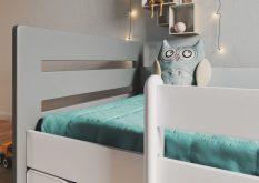 Łóżko łóżeczko dziecięce BUBU 180x80 różne kolory 8