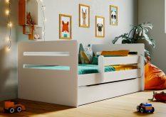 Łóżko łóżeczko dziecięce BUBU 180x80 różne kolory 5