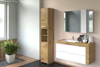 PROVENCE 30S - słupek łazienkowy dąb artisan 4