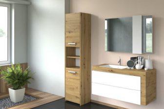 PROVENCE 40S - słupek łazienkowy dąb artisan 12