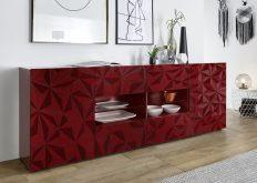 PRIMO 7 - komoda w stylu glamour różne kolory połysk 4