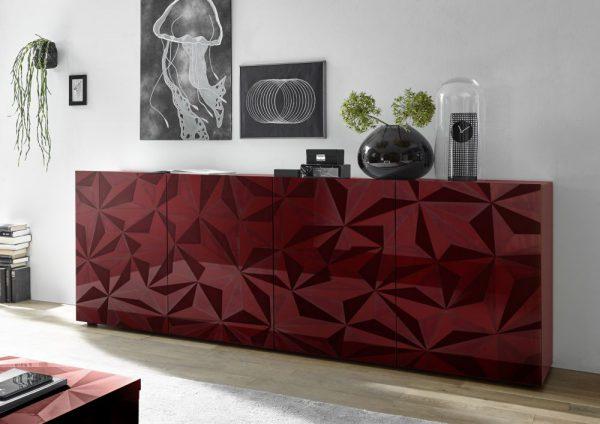 PRIMO 3 - komoda w stylu glamour różne kolory połysk 1