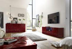 PRIMO 3 - komoda w stylu glamour różne kolory połysk 9