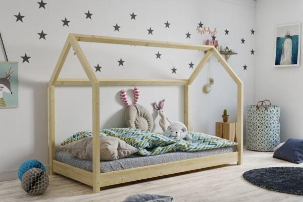 Łóżko łóżeczko dziecięce DOMEK 200x90 1