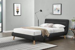 ELANDA 160 - łóżko tapicerowane z zagłówkiem KOLORY 5