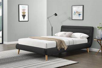 ELANDA 140- łóżko tapicerowane z zagłówkiem KOLORY 84