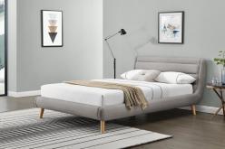 ELANDA 160 - łóżko tapicerowane z zagłówkiem KOLORY 3