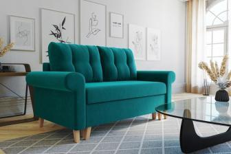 GLAMOUR 5 - sofa rozkładana dwuosobowa - szybka realizacja 23