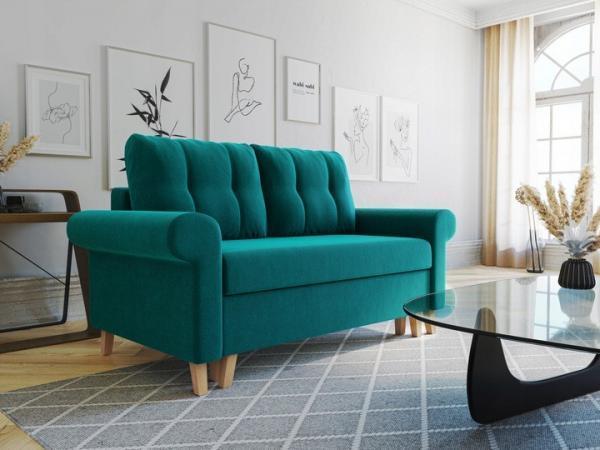 GLAMOUR 5 - sofa rozkładana dwuosobowa - szybka realizacja 1