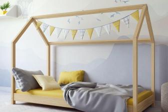 Łóżko łóżeczko dziecięce DOMEK 160x80 13