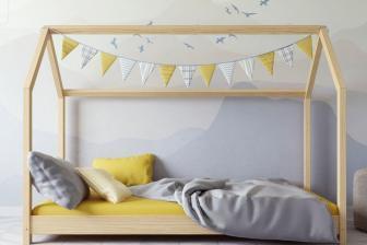 Łóżko łóżeczko dziecięce DOMEK 180x80 14