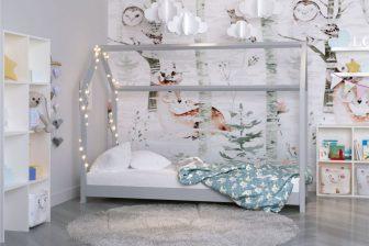 Łóżko łóżeczko dziecięce DOMEK 180x80 - 3 kolory 27