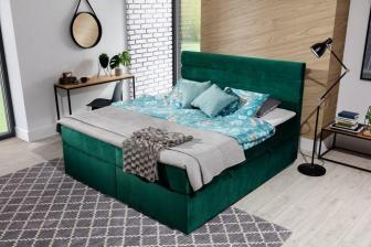 FENDI 180 - łóżko kontynentalne z opcją wyboru koloru 15