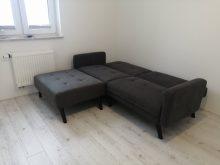 CORNER - kanapa z funkcją spania + podnóżek 9