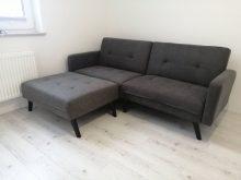 CORNER - kanapa z funkcją spania + podnóżek 7