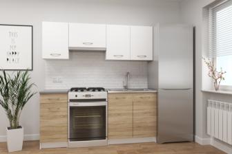 ALGIDA - meble kuchenne do małej kuchni - różne kolory 1,8m 9