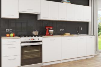 FELICITA - duży zestaw mebli kuchennych różne kolory 3,0m 13