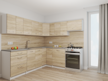 RISOTTO - meble kuchenne narożne różne kolory 2,3m x 2,1m 2