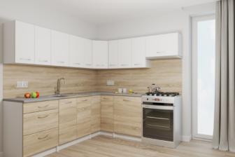 RISOTTO - meble kuchenne narożne różne kolory 2,3m x 2,1m 24