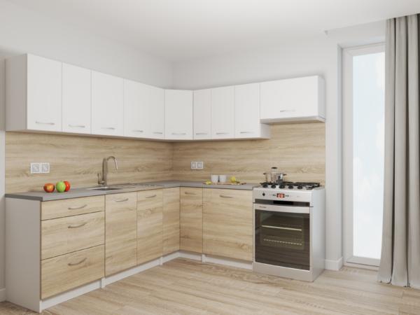 RISOTTO - meble kuchenne narożne różne kolory 2,3m x 2,1m 1