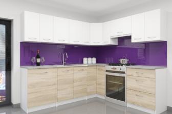 BAZYLIA - meble kuchenne narożne różne kolory 2,3m x 2,1m 12
