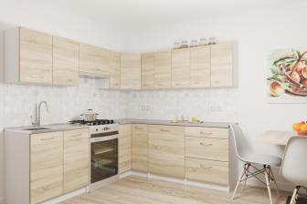 KURKUMA - meble kuchenne narożne różne kolory 2,3m x 2,1m 16
