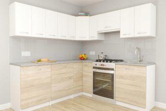 MONO - meble kuchenne narożne różne kolory 2,1m x 1,5m 20