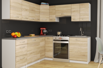 MONICA - meble kuchenne narożne różne kolory 2,1m x 1,7m 18