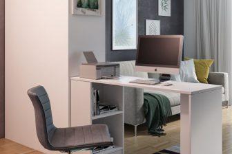 MIKRUS- biurko z półkami 3 kolory 35