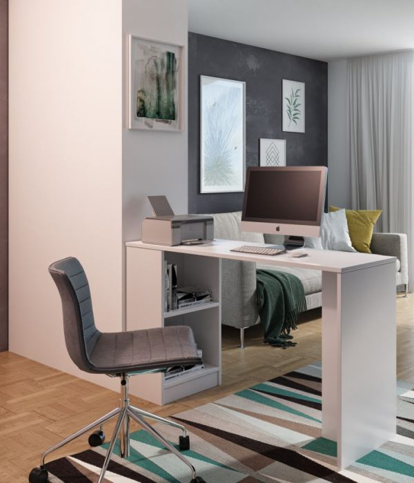 MIKRO - biurko z półkami 1
