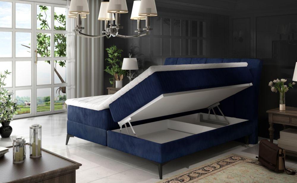 Łóżko kontynentalne AMORE 160 5