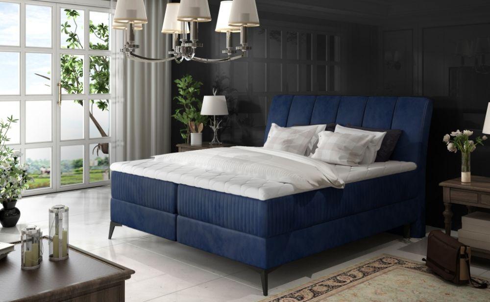 Łóżko kontynentalne AMORE 160 4