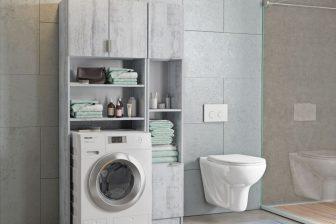 ARKA 2 - szafka nad pralkę ze słupkiem 4 kolory 13