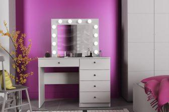 OMEGA - toaletka 12 żarówek LED 229