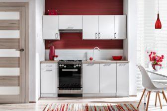 AGNES POŁYSK - meble kuchenne z blatem różne kolory 2,1m 17
