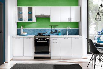 AGNES POŁYSK - meble kuchenne z blatem różne kolory 2,6m 8