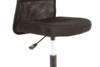 Q121 - fotel obrotowy gabinetowy CZARNY 43
