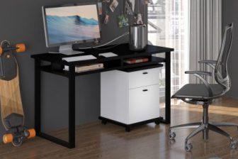 CRAFT B– biurko z półką w stylu loft - 5 kolorów 56