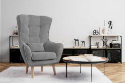 ARETTA - fotel typu uszak z poduszką 5
