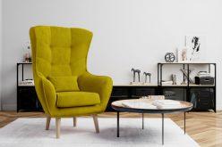 ARETTA - fotel typu uszak z poduszką 7