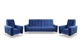DAMARIO 3+1+1 - zestaw wypoczynkowy z kanapą 20