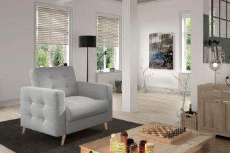 BORAS - fotel w stylu skandynawskim 4