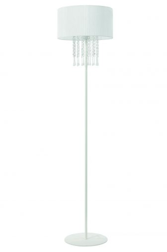 Lampa podłogowa Wenecja biała 25